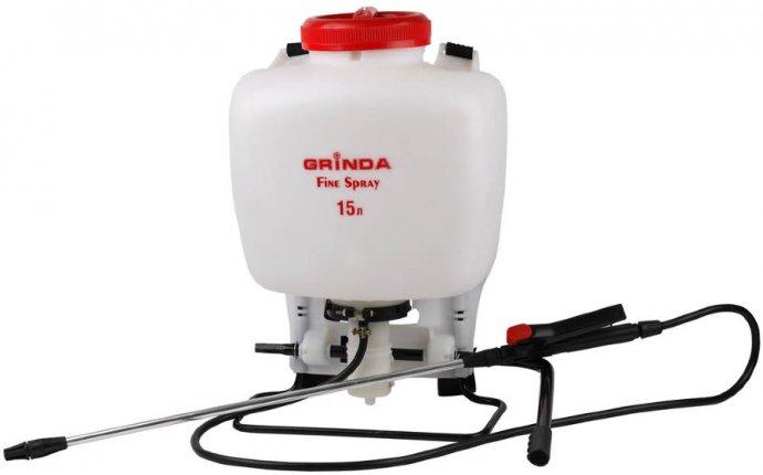 GRINDA Fine Spray 8-425215 опрыскиватель садовый ранцевый 15л