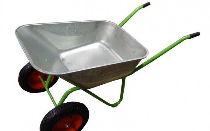 Тачка садовая 2 колеса (120 кг, 85 л, вес 12 кг), шт - Интернет