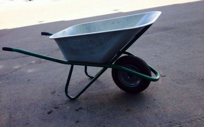 Тачка строительная усиленная одноколесная 110 л. цинк, 250 кг. купить