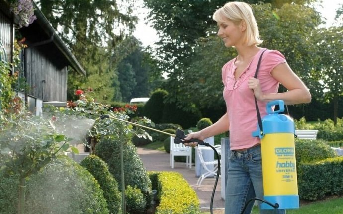 Виды садовых опрыскивателей или как правильно выбрать