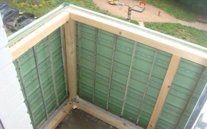 Как обшить снаружи балкон своими руками
